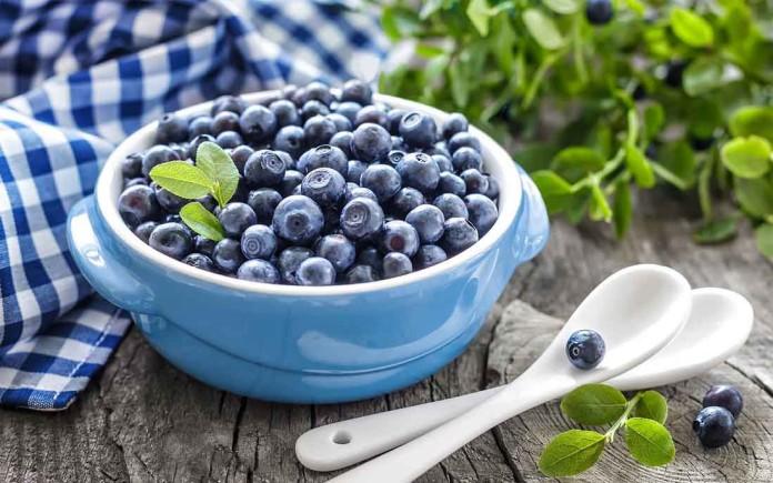 Черника снижает уровень холестерина